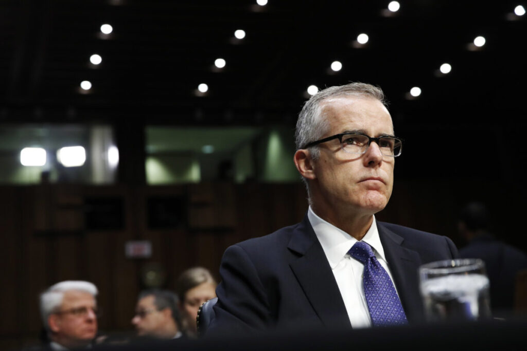 McCabe Aware of Exculpatory Evidence Before Opening Obstruction Probe Into Trump, Documents Show