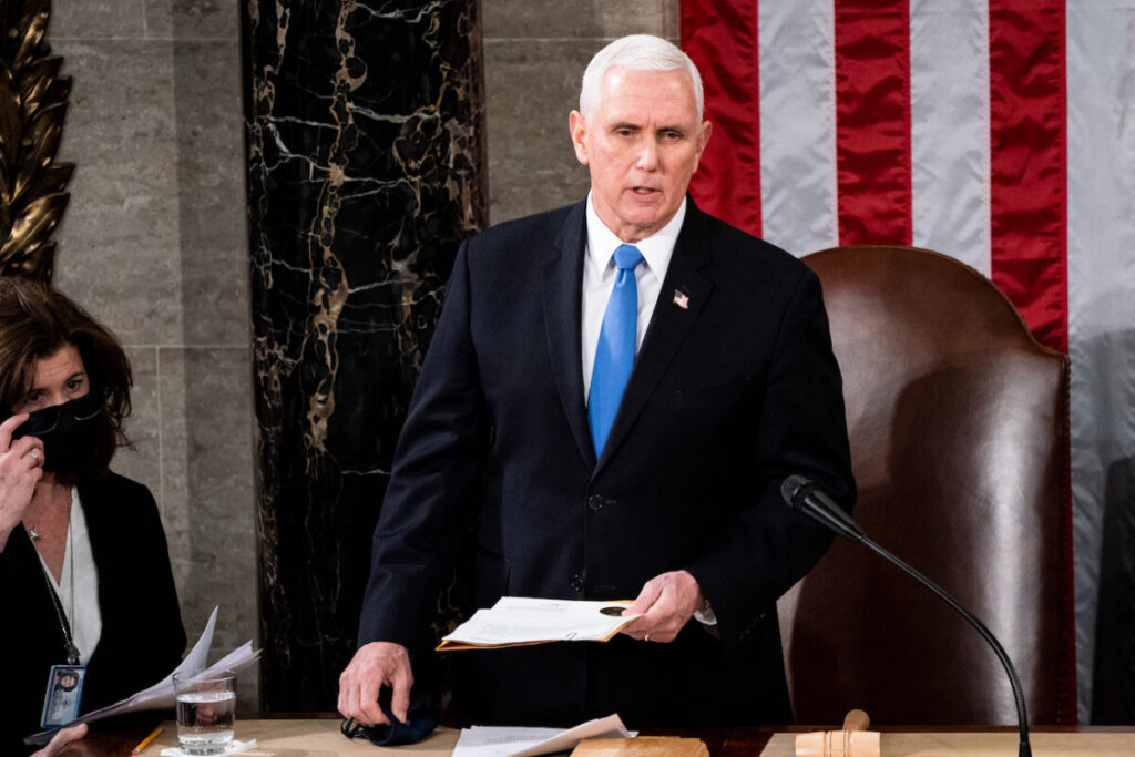 Pence Refuses to Invoke the 25th Amendment