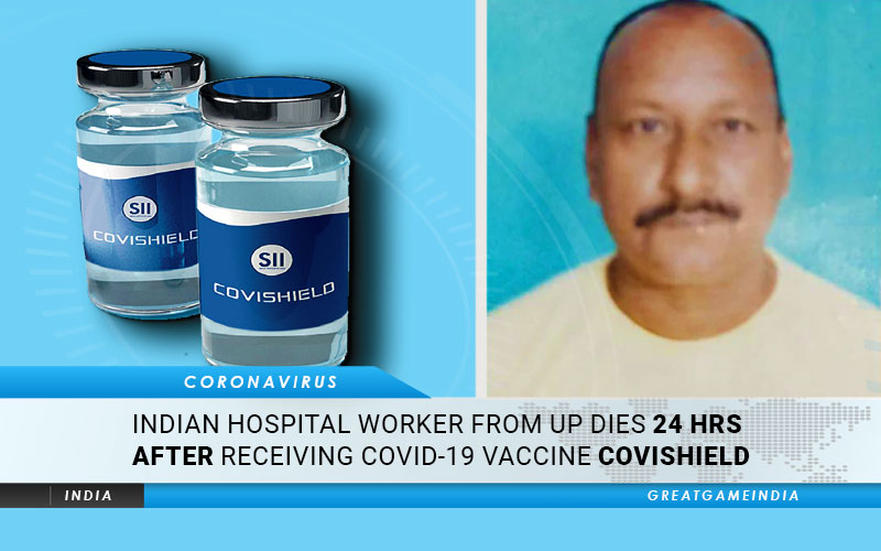 Indian Hospital Worker Dies Just 24 Hours After Receiving COVID-19 Vaccine Covishield