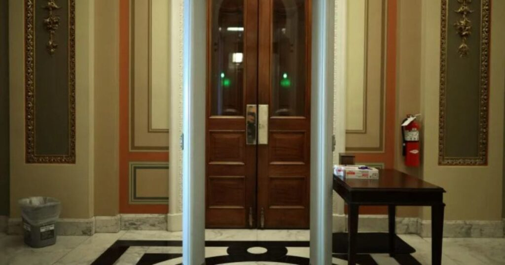 Freshman GOP Congresswoman Lauren Boebert, Capitol Police Were In Standoff Over Bag At Newly Installed Metal Detectors