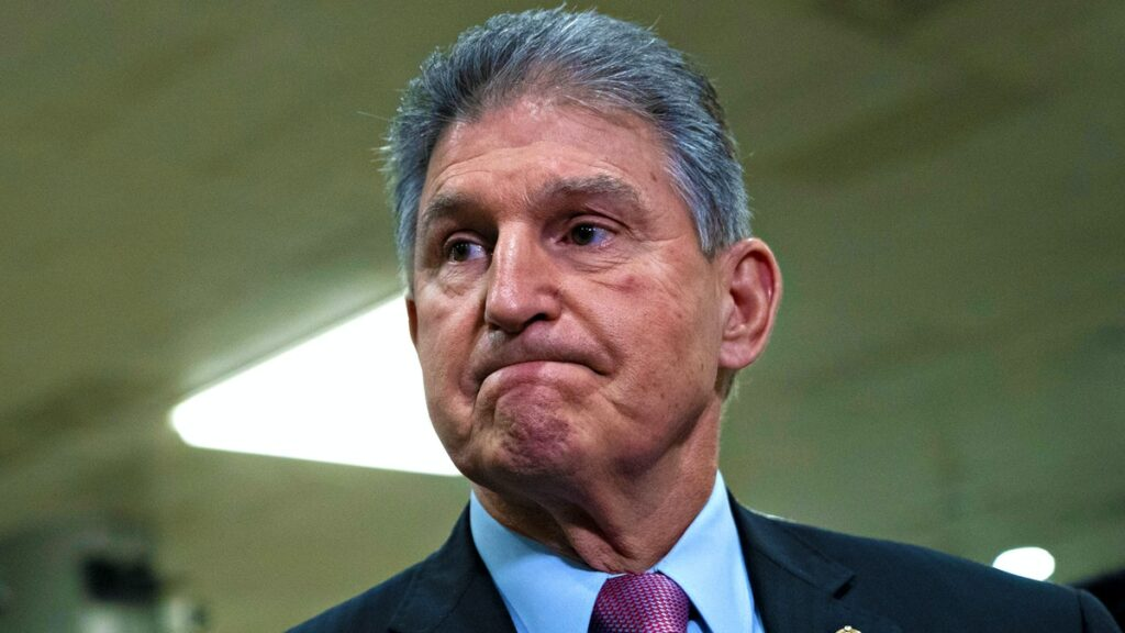 Democrat Senator Joe Manchin: 'I Really Do' Support De-Platforming Trump, Hawley, Parler