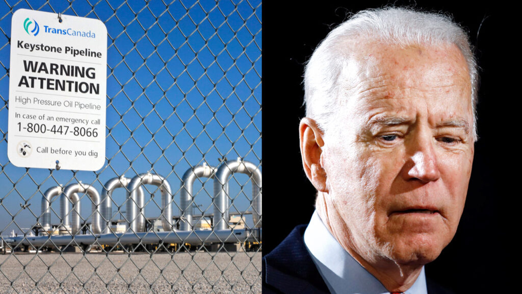 "Canadian leaders react to Biden cancellation of Keystone XL: ""gut punch"""