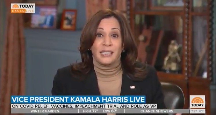 TRAINWRECK: Kamala Harris Stammers Incoherently When Confronted About Biden Admin's Failure to Reopen Schools (VIDEO)