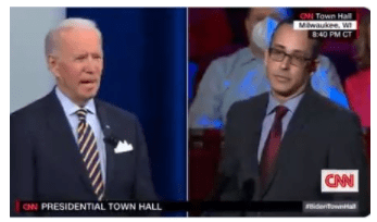 Ignored by Media: Dirtbag Joe Biden Says US Veterans and Former Police Officers Are Fueling White Supremacism in America