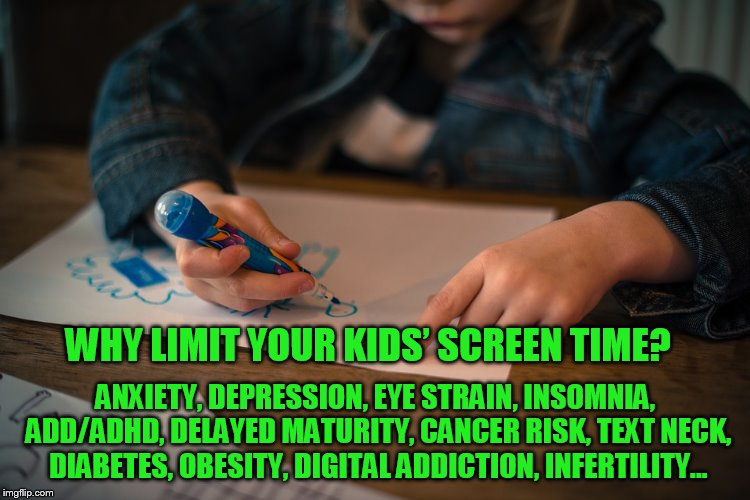 Warnings About Screens Affecting Kids' Mental and Physical Health Pre-Date COVID — Remote Learning Making It Worse