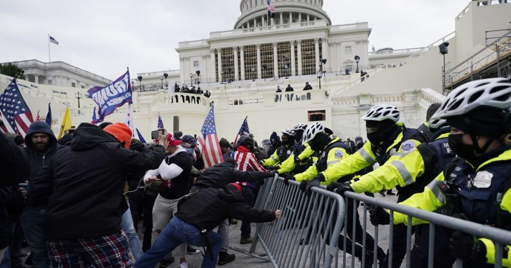 Six Capitol officers suspended and 35 under investigation for role in Jan. 6 riot