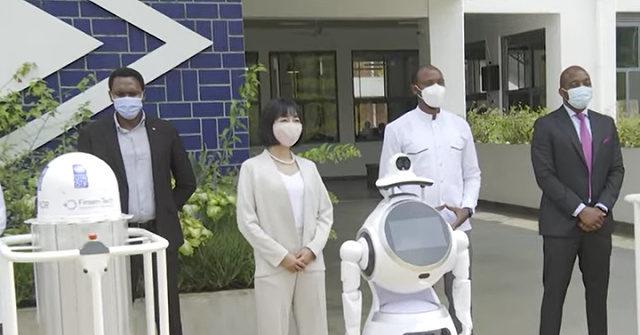 Rwanda Deploys Robots to Disinfect Hospitals Treating Coronavirus