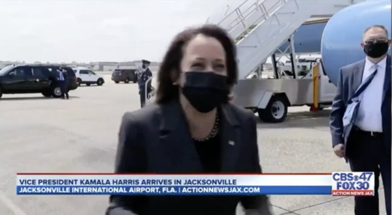 Funny Crisis? Kamala Laughs HYSTERICALLY When Asked About Visiting Border [WATCH]