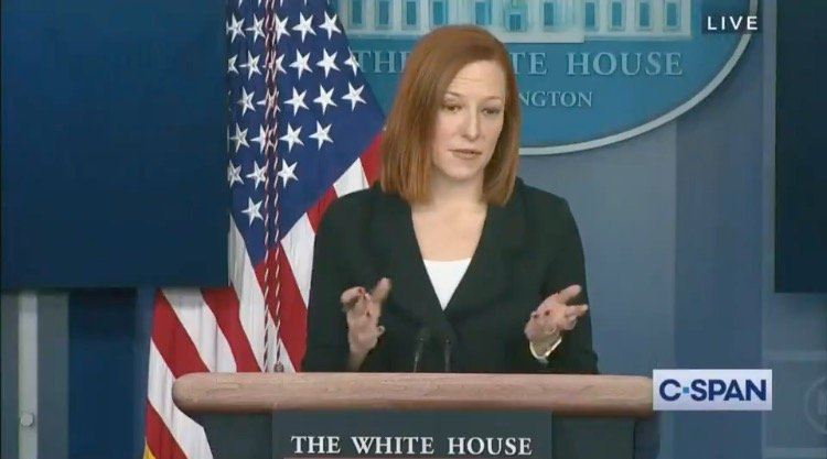 Psaki Says Joe Biden is Just Too Busy Handling the 'Covid Crisis' Right Now So He Will Hold a Full Press Conference by the End of the Month (VIDEO)