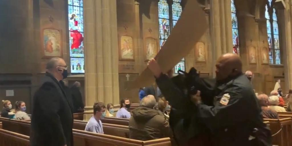 Pro-abortion protesters arraigned after being charged with disrupting Respect Life Mass in Ohio