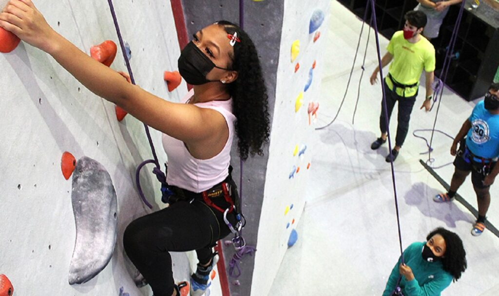 Ivy League University Offers Rock Climbing Class — No White Students Allowed