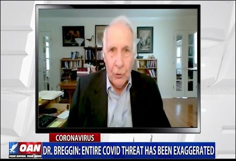 Dr. Breggin: Entire COVID Threat Has Been Exaggerated