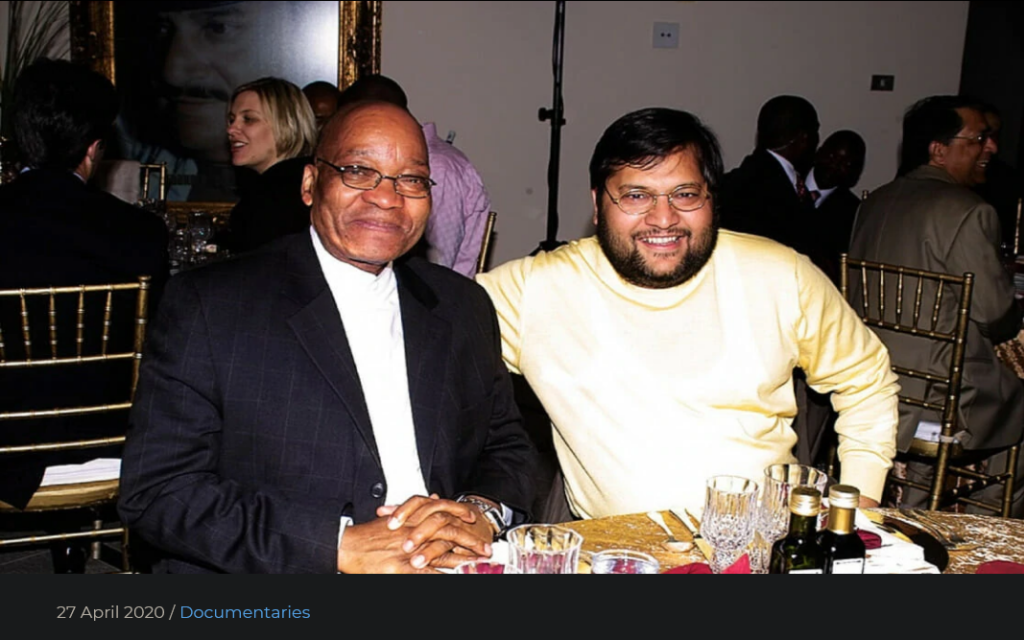 SOUTH AFRICA the Gupta-gate documentary: How to Steal a Country this Freedom Day
