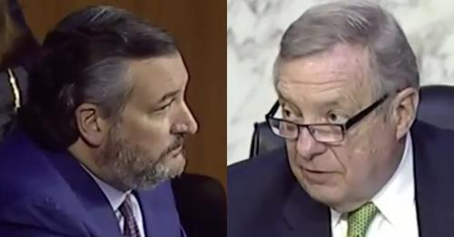 "Ted Cruz Rage-Tweets 'Fact-Check' Of ""Lefty Press"" & Sen. Durbin's ""Lies"" About Stimmies For Illegal Immigrants"
