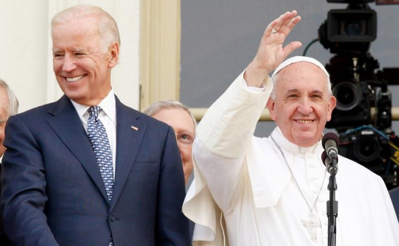 Pope Francis speaks at Biden's climate summit after his name curiously disappears from schedule