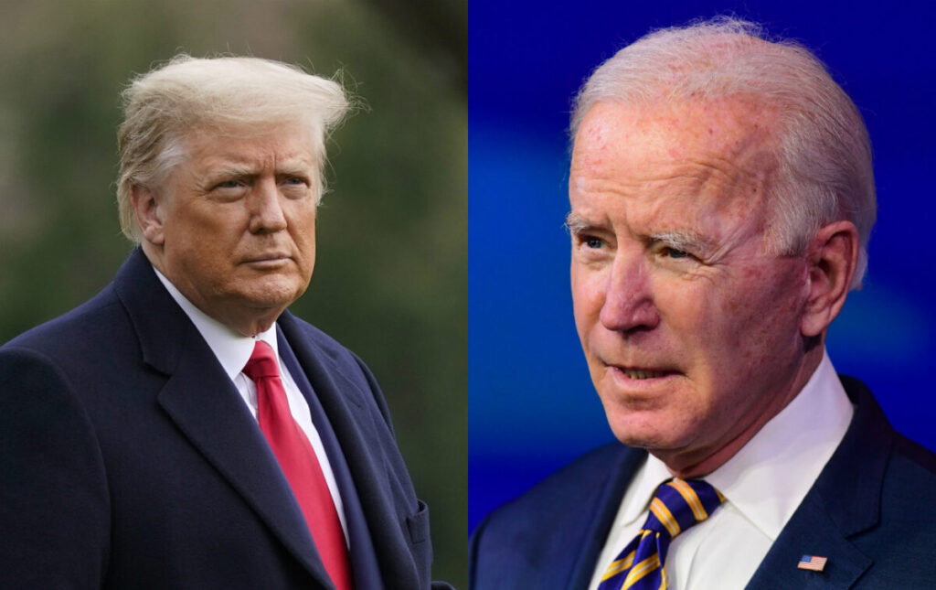 Trump: Biden Should Re-impose Travel Ban to Defend US Against Terrorism