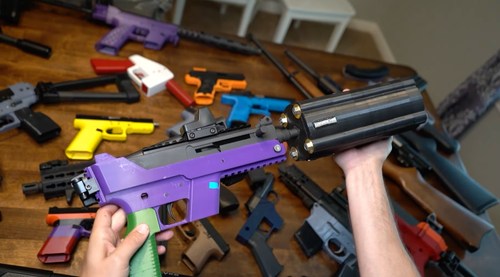 """I Shoot a Bunch of 3D Printed Guns - Do My Hands Survive?"""