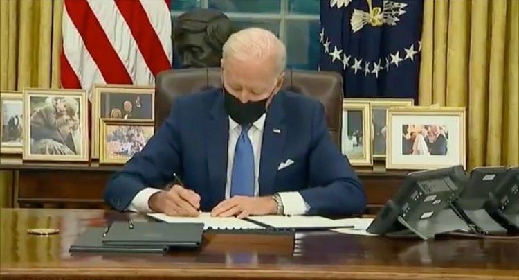 "China Joe Signs Executive Order Banning Federal Use of the Words ""Wuhan Virus"" to Describe Wuhan Virus"