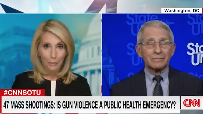 Video: Fauci Now Being Interviewed About Gun Control