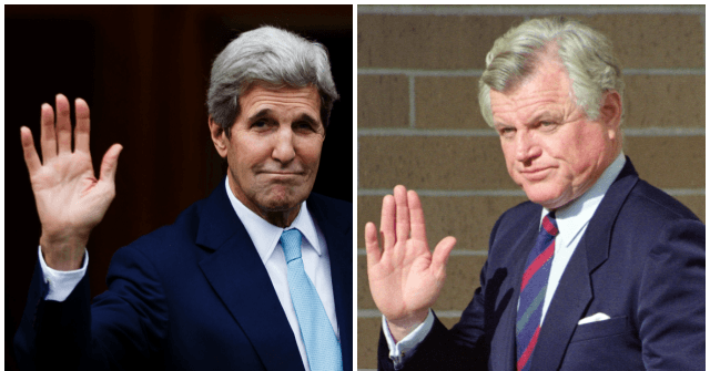 Pinkerton: John Kerry Isn't the First Massachusetts Democrat Accused of Assisting an Enemy