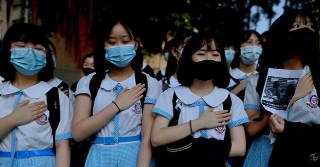 China Indoctrinates Hong Kong Children with 'National Security Education Day'