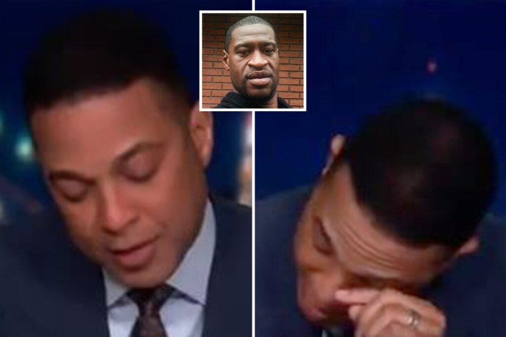 CRYING SHAME CNN's Don Lemon sobs over George Floyd on live TV as he breaks down about people 'making excuses for racism'