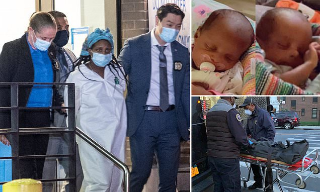 Mom charged with murdering six-week-old twins first tried to poison them with PINE-SOL laced milk before stabbing boy in the neck and scalding girl with hot water, prosecutors say
