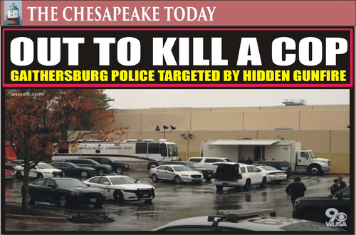 'Out To Kill A Cop' - Sniper On The Loose In Maryland