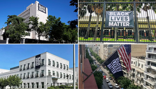 US Embassies Worldwide Are Flying BLM Flags This Week