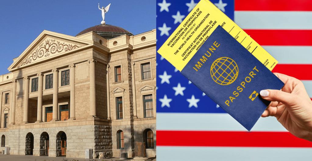 Arizona Senate Passes Bill Banning Mandatory Vaccine Passports, Mask Mandates