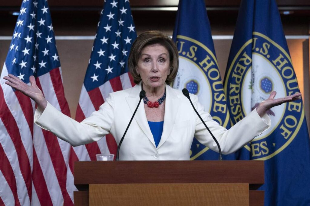 The Day the Petty Tyranny of Nancy Pelosi Was Brought Down