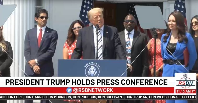 LIVE STREAM VIDEO: President Trump Announces Lawsuits Against Twitter, Google and Facebook CEOs — Asks for Punitive Damages – Via RSBN on Rumble