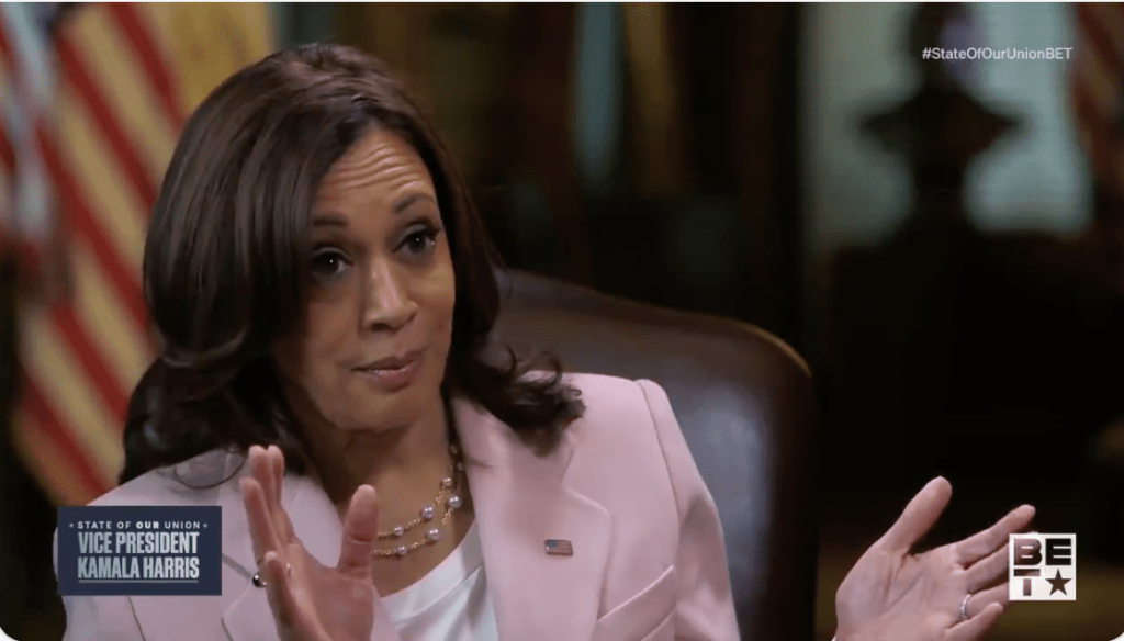 """VIDEO: Hilarious Responses to Kamala Harris Saying It's """"Almost Impossible"""" for Rural Americans to Photocopy Their ID"""