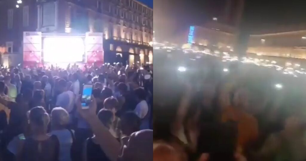 BREAKING: Massive Protest Forms In Italy As Government Creates Vaccine Passports, Restricts Movement For Unvaxxed