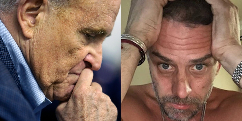 Rudy Giuliani Offered FBI Proof of Hunter Biden's Child Porn — They Declined and Took Everything Else