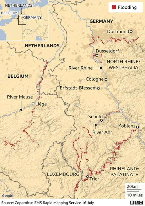 Striking Photos Show Aftermath Of Europe's Devastating Floods