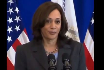 Wow. Vice President Kamala Harris Says to Get the Vax Because the Bible Says So (Video)