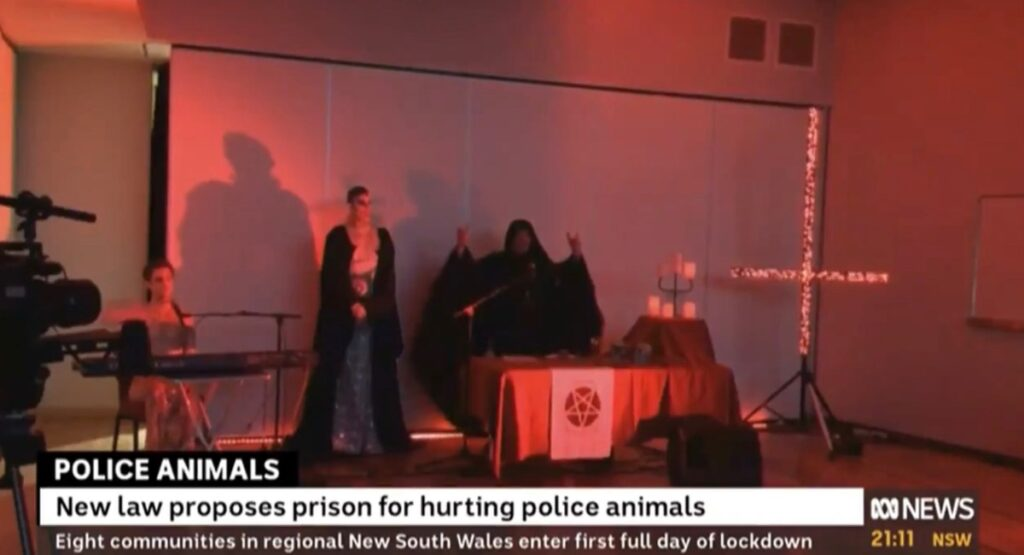 VIDEO: Australian Broadcasting Corporation Airs Weird Satanic Scene During Botched Broadcast
