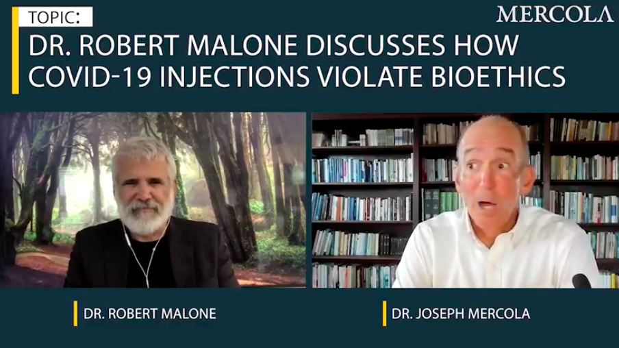 COVID-19 Injection Campaign Violates Bioethics Laws. Dr. Robert Malone