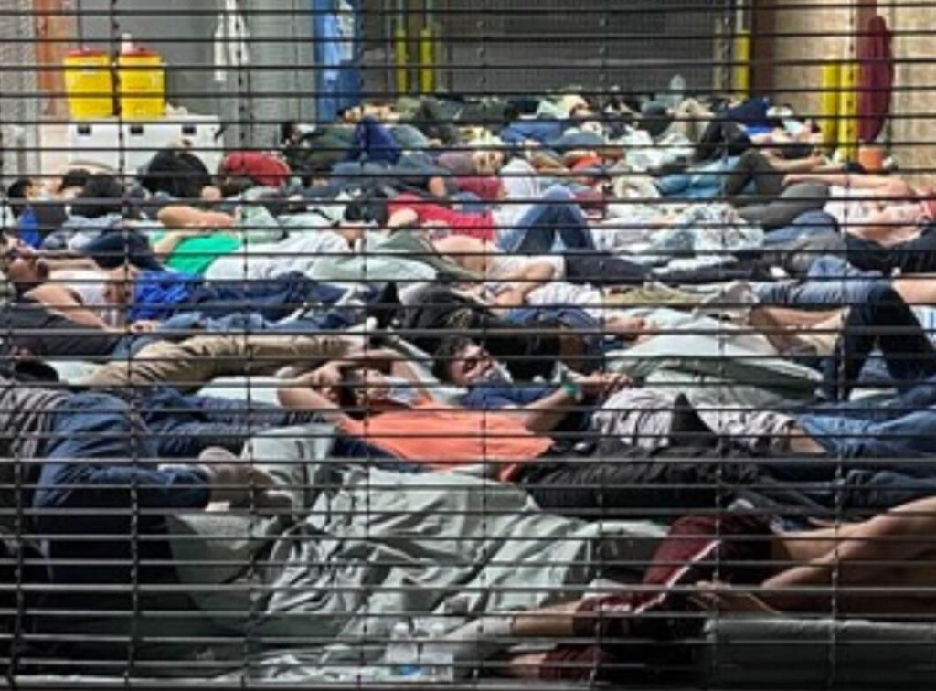 """TOTAL """"NIGHTMARE:"""" Fed-Up Border Patrol Agents Document """"Horrifying"""" Conditions in Biden's Migrant Facilities; Illegals Piled On Top of Each Other in Holding Cells (Video)"""