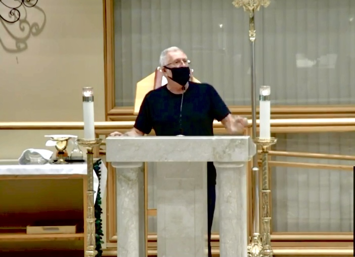 Florida priest berates parents for protesting school mask mandates, threatens to pull scholarships