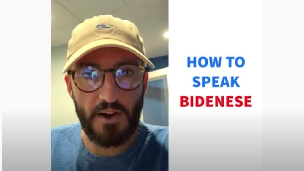 How to speak Bidenese