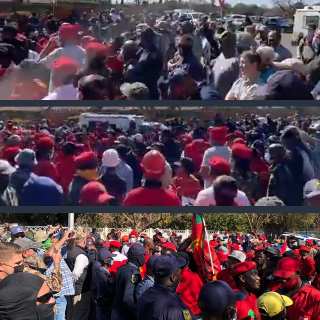South Africa: Leftist Mob Attacking Senior Center Stopped by Local Militia