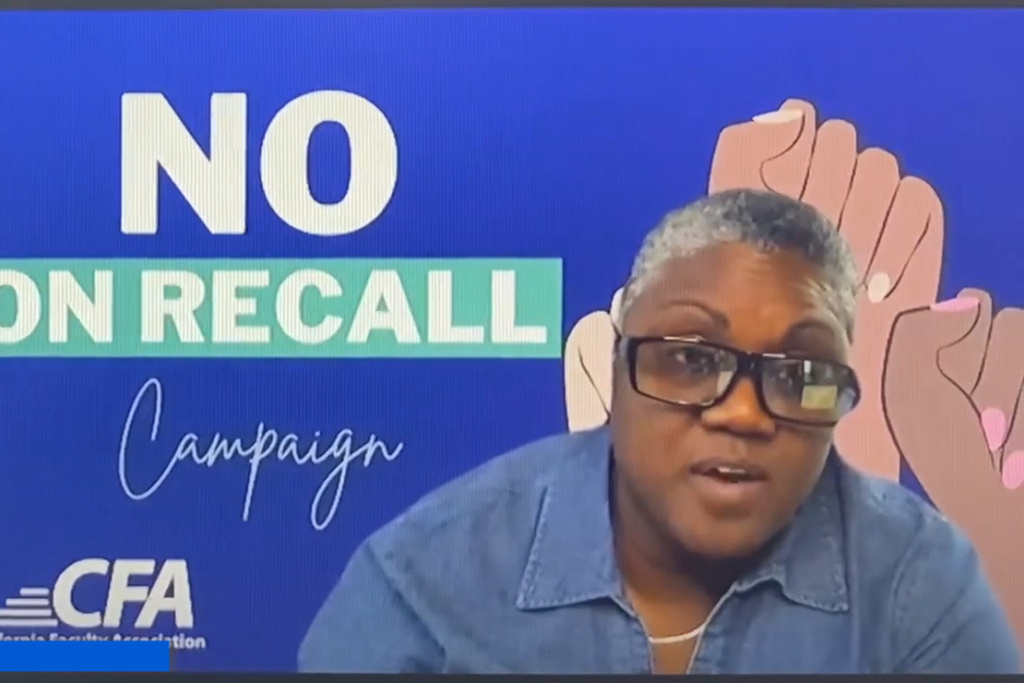 EXCLUSIVE VIDEO: CA Teacher's Union Uses Mandatory Training to Bully Members to Vote No on Recall