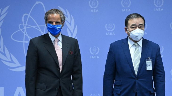 IAEA safety assurance begins for Fukushima water release