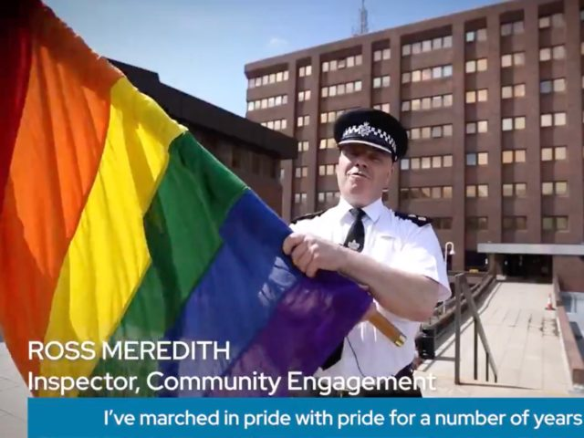 UK Police Pledge to 'Promote Pronoun Awareness' in Cringe Video for Yet Another Pride Weekend