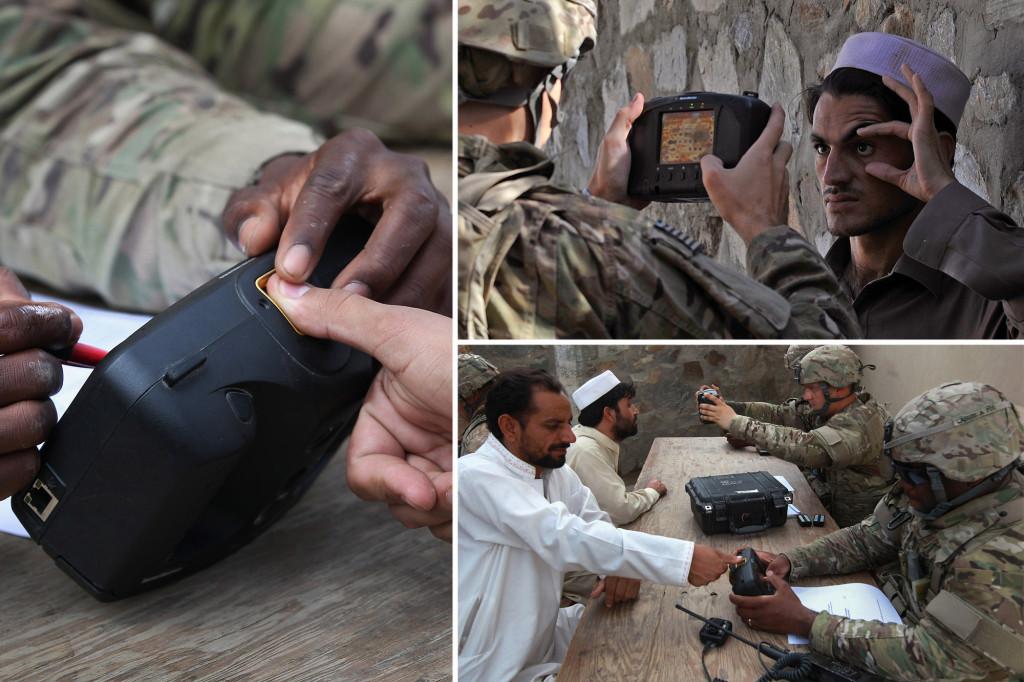 Taliban kill squad hunting down Afghans — using US biometric data