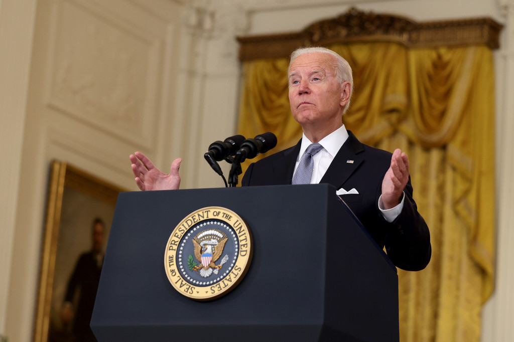 Another poll shows Biden's approval rating falling below 50 percent