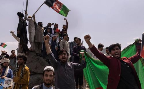 """More Protesters Killed By Taliban During Wave Of """"Independence Day"""" Violence As Demonstrations Spread To Kabul"""