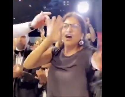 VIDEO: Anti-Semitic Democrat Rashida Tlaib Parties All Night with 100+ Maskless Friends